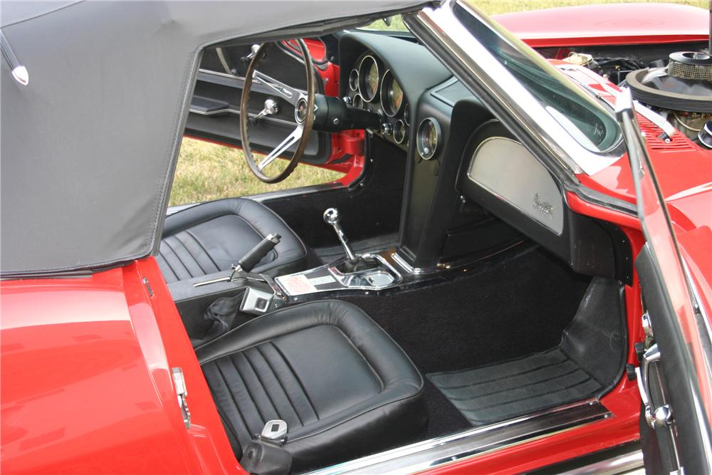 1967 CHEVROLET CORVETTE L-88 RE-CREATION - Interior - 96313