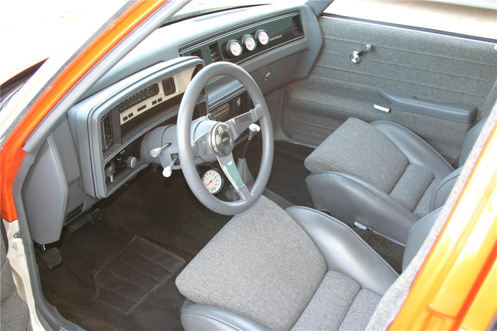 1980 CHEVROLET MALIBU CUSTOM STATION WAGON - Interior - 96315