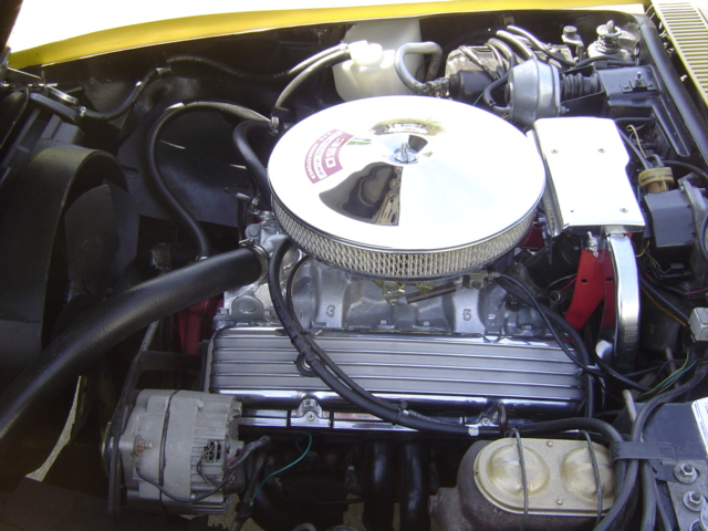 1971 CHEVROLET CORVETTE CUSTOM 2 DOOR COUPE - Engine - 96318