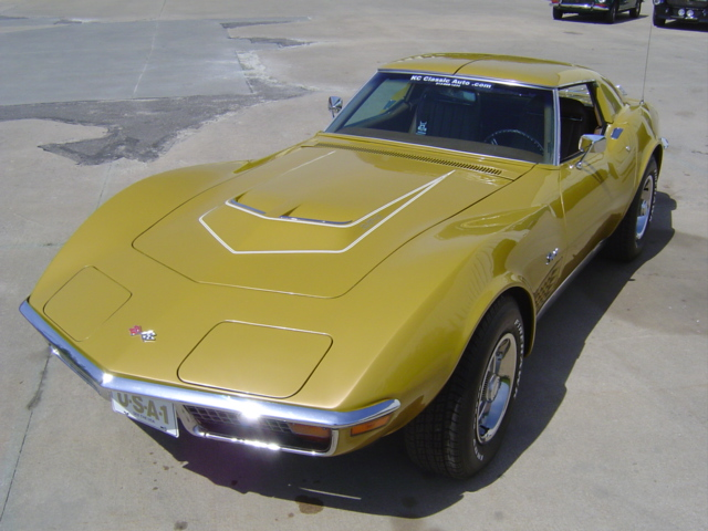 1971 CHEVROLET CORVETTE CUSTOM 2 DOOR COUPE - Front 3/4 - 96318