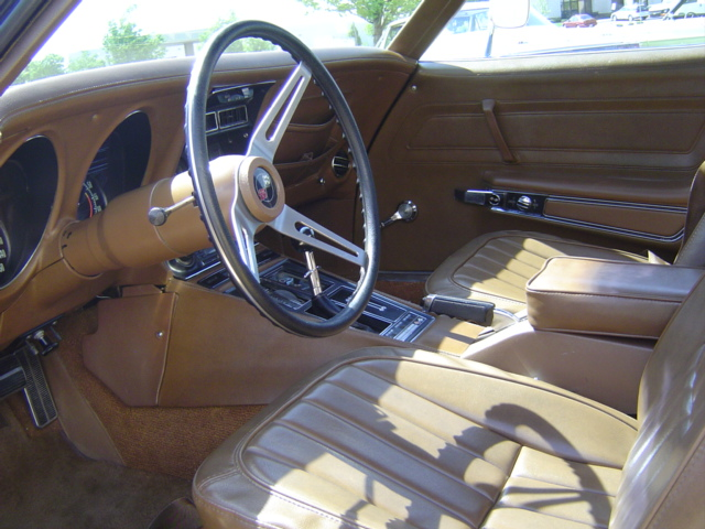 1971 CHEVROLET CORVETTE CUSTOM 2 DOOR COUPE - Interior - 96318