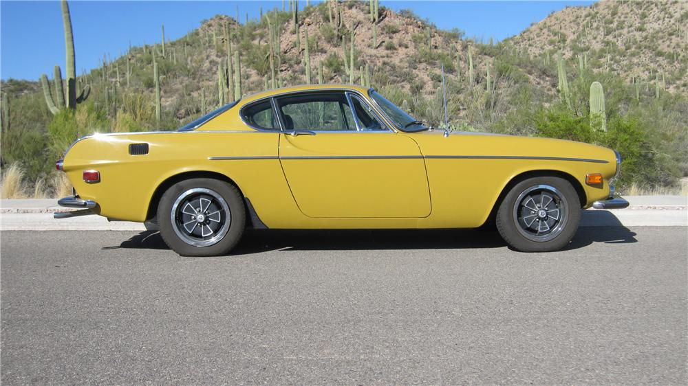 1971 VOLVO P1800 E 2 DOOR COUPE - Side Profile - 96321