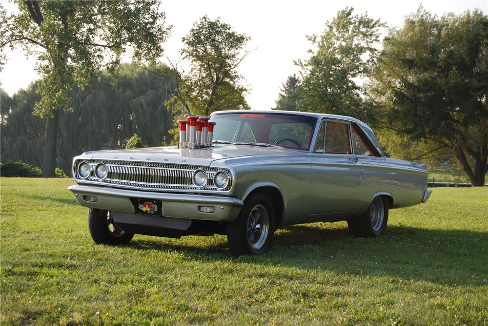 1965 DODGE CORONET CUSTOM 2 DOOR HARDTOP - Front 3/4 - 96322
