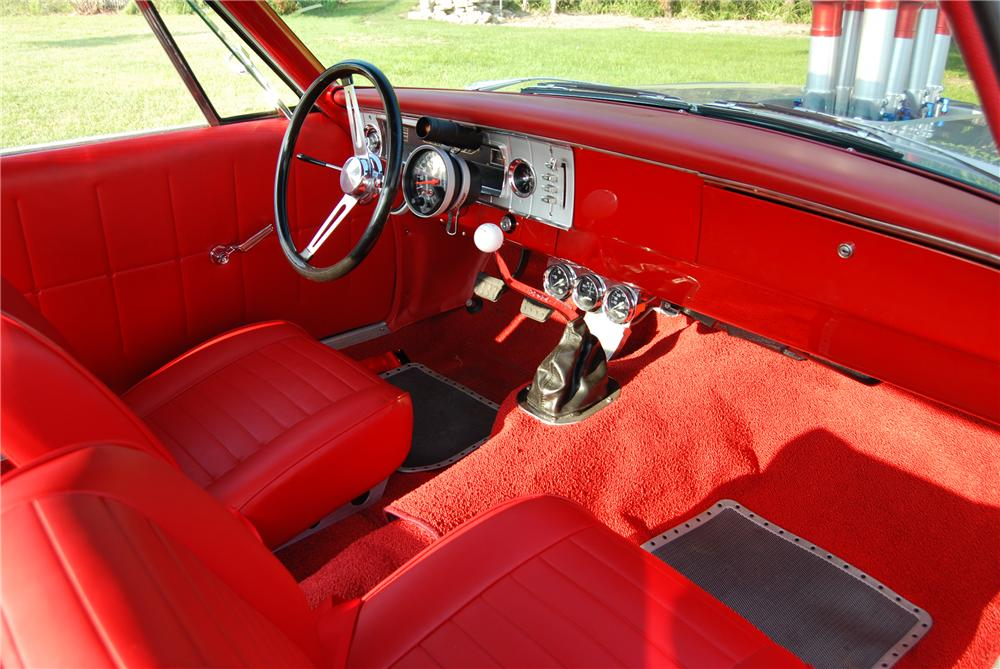 1965 DODGE CORONET CUSTOM 2 DOOR HARDTOP - Interior - 96322