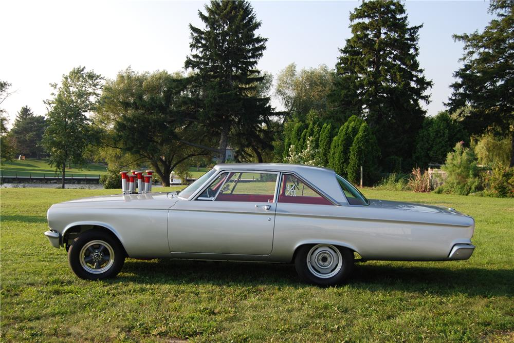 1965 DODGE CORONET CUSTOM 2 DOOR HARDTOP - Side Profile - 96322