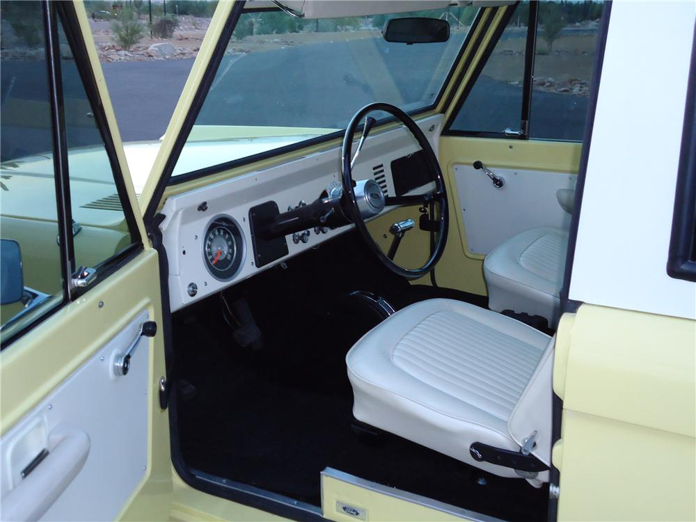 1969 FORD BRONCO SUV - Interior - 96335