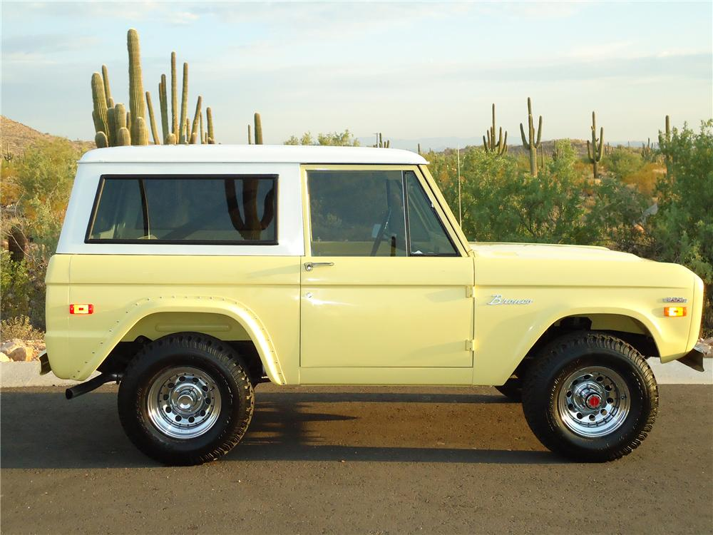 1969 FORD BRONCO SUV - Side Profile - 96335