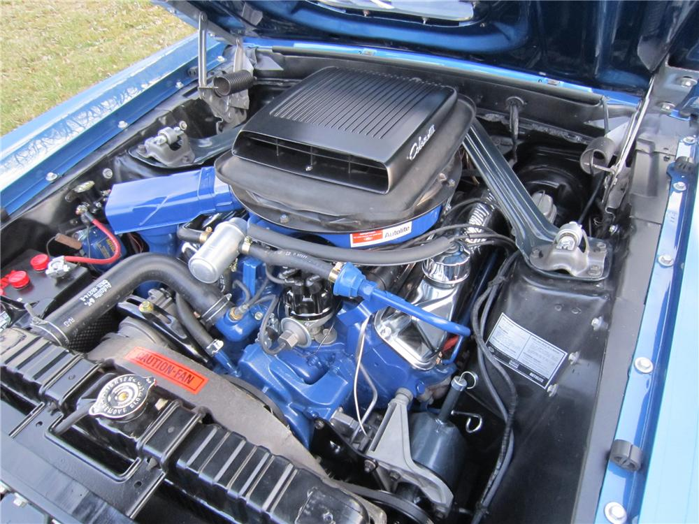 "1969 FORD MUSTANG 428 CJ ""R"" FASTBACK - Engine - 96336"