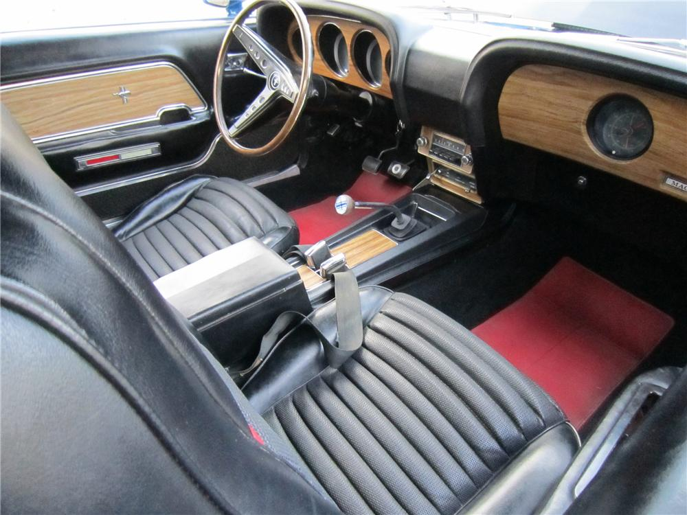 "1969 FORD MUSTANG 428 CJ ""R"" FASTBACK - Interior - 96336"