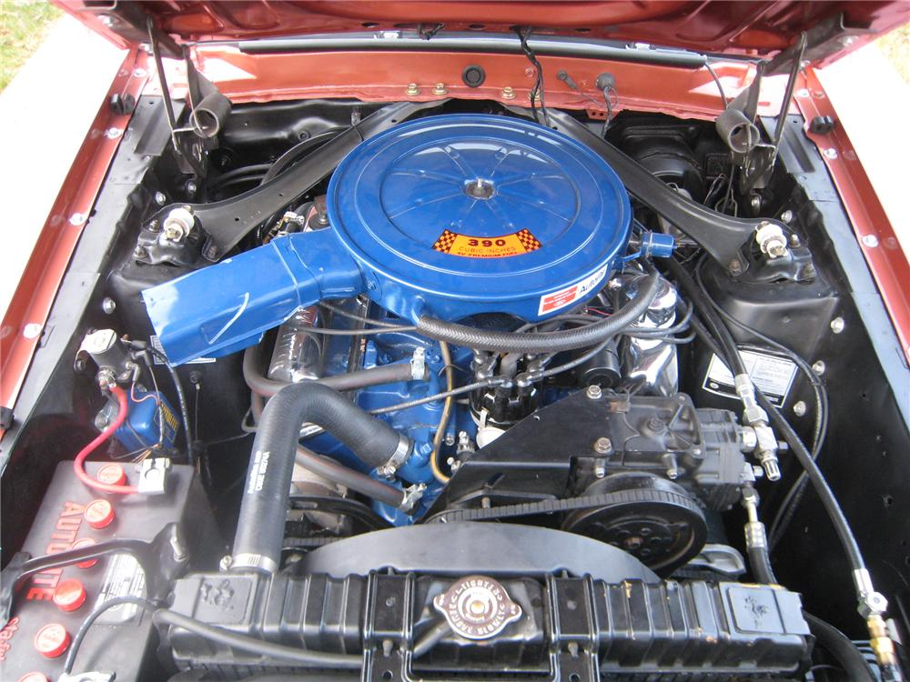 1969 FORD MUSTANG MACH 1 FASTBACK - Engine - 96337