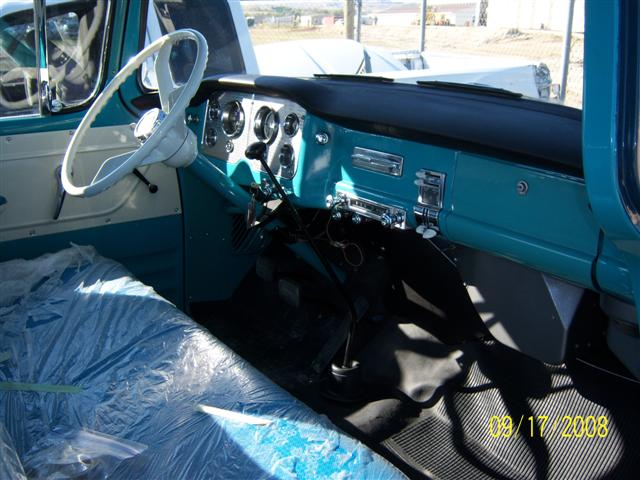 1958 GMC 1/2 TON PICKUP - Interior - 96339