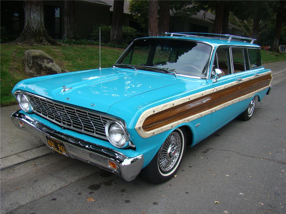 1964 FORD FALCON WOODY WAGON - Front 3/4 - 96340