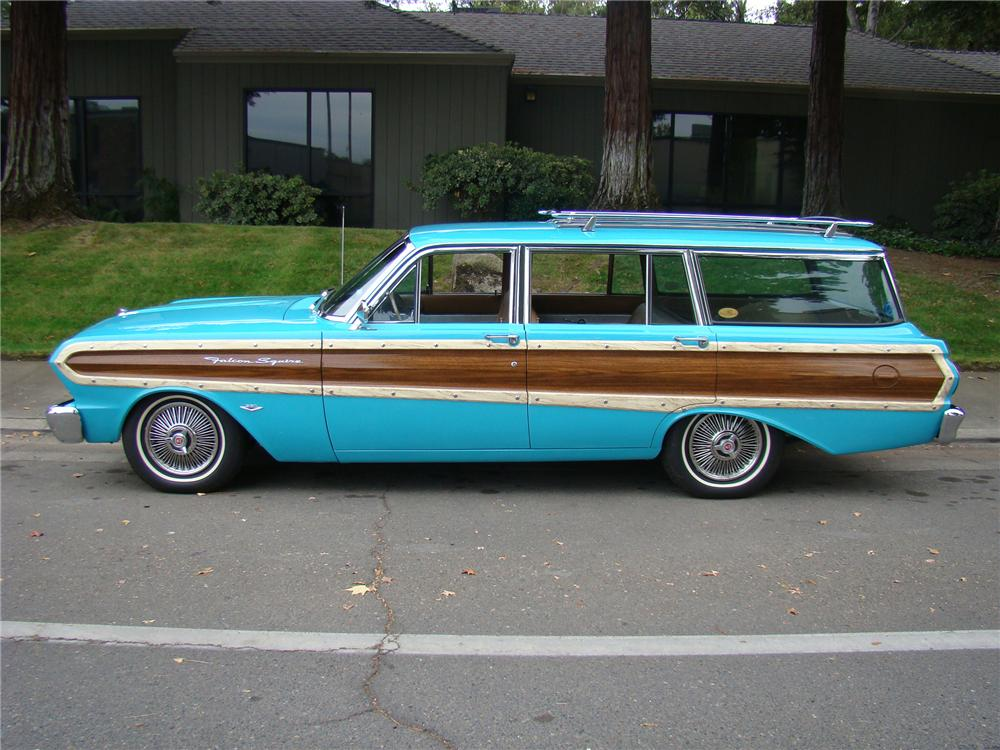 1964 FORD FALCON WOODY WAGON 96340