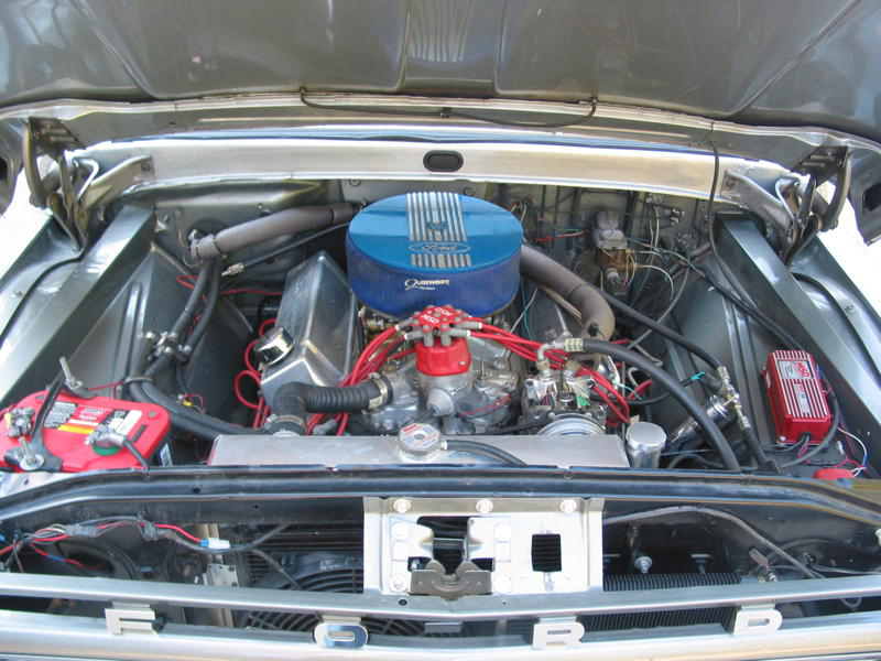 1966 FORD F-100 CUSTOM PICKUP - Engine - 96341