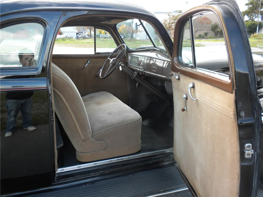 1939 CHEVROLET MASTER 85 2 DOOR COUPE - Interior - 96342