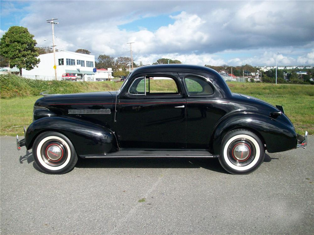 1939 CHEVROLET MASTER 85 2 DOOR COUPE - Side Profile - 96342