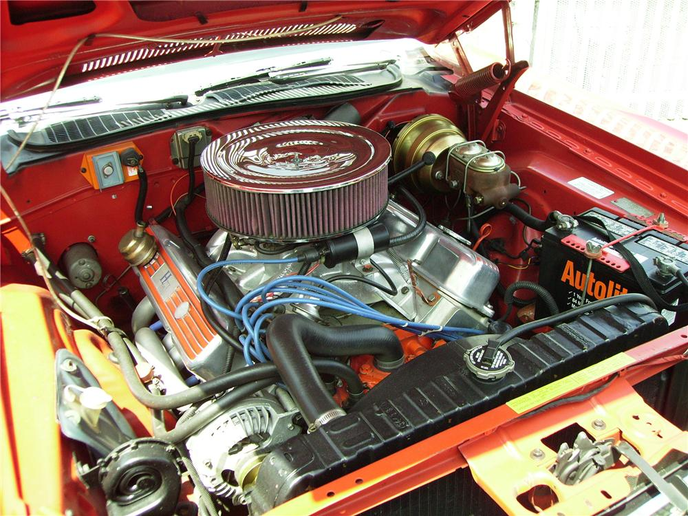 1970 DODGE CHALLENGER CUSTOM CONVERTIBLE - Engine - 96343