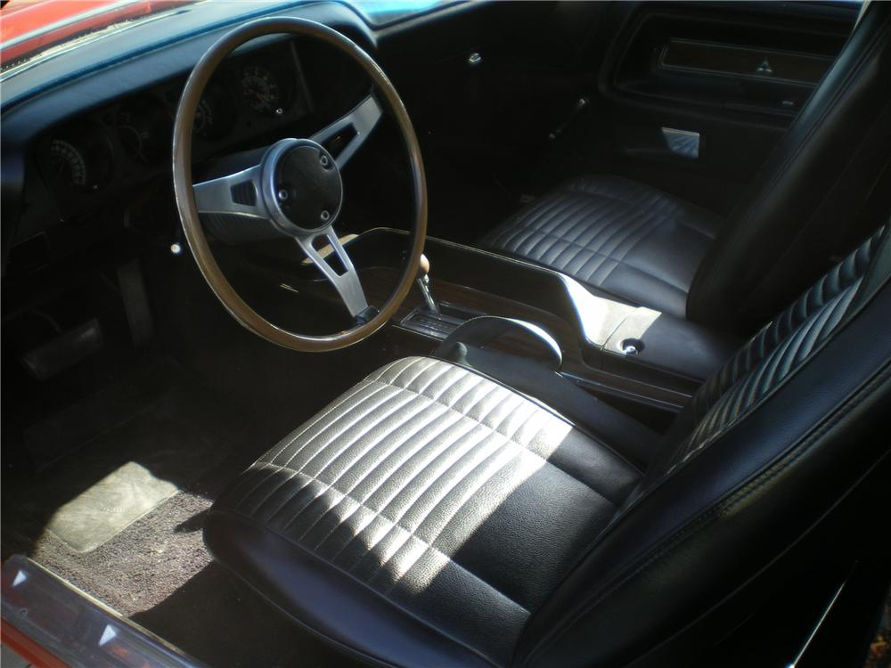 1970 DODGE CHALLENGER CUSTOM CONVERTIBLE - Interior - 96343