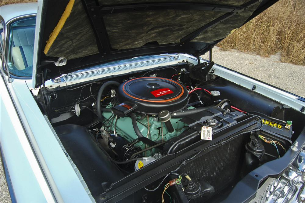 1959 OLDSMOBILE 98 2 DOOR BUBBLE TOP - Engine - 96354