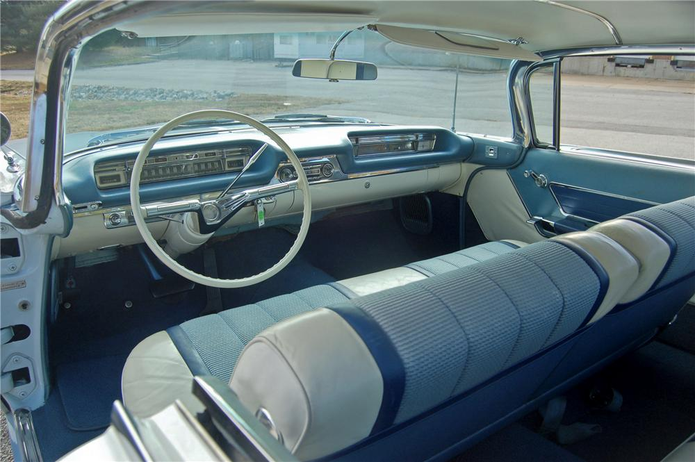 1959 OLDSMOBILE 98 2 DOOR BUBBLE TOP - Interior - 96354
