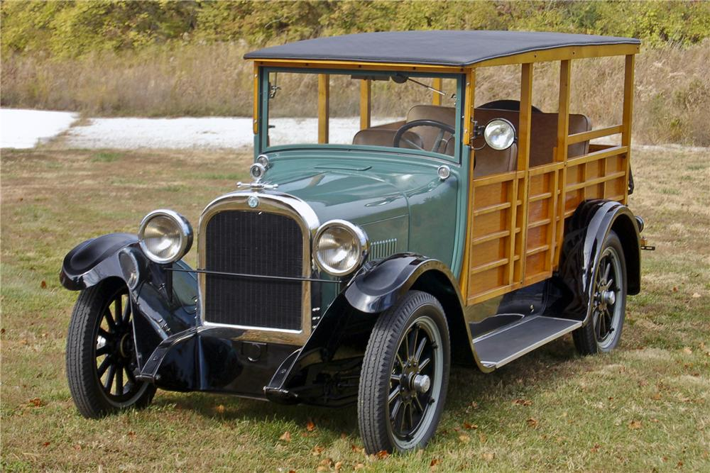 1926 DODGE WOODY WAGON - Front 3/4 - 96357
