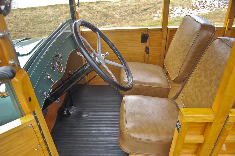 1926 DODGE WOODY WAGON - Interior - 96357