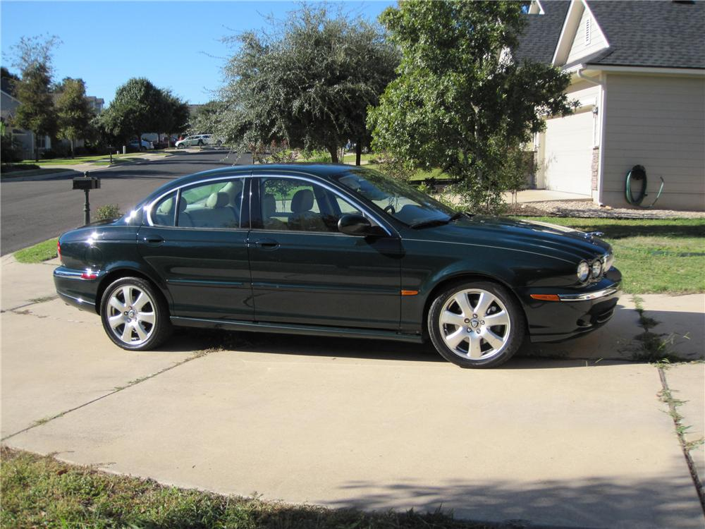 2004 JAGUAR X-TYPE SEDAN - Side Profile - 96372