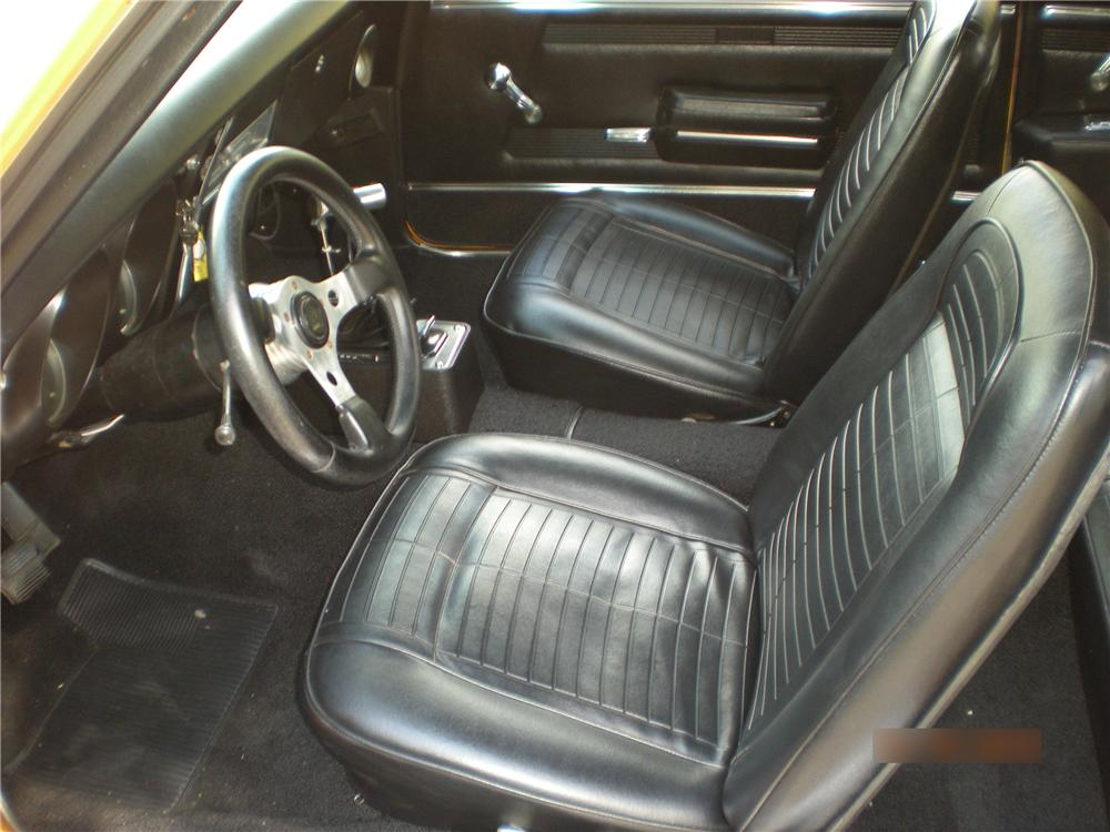 1968 PONTIAC FIREBIRD CUSTOM COUPE - Interior - 96376