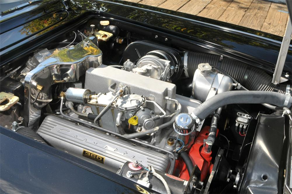 1962 CHEVROLET CORVETTE CONVERTIBLE - Engine - 96379