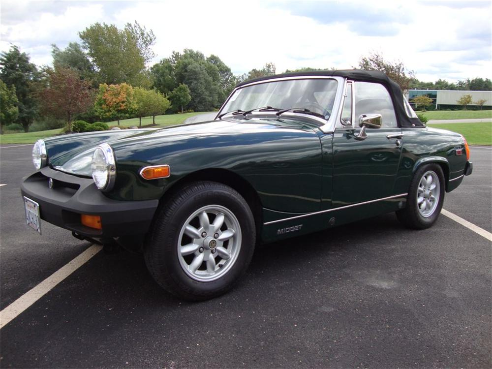 1978 MG MIDGET ROADSTER - Front 3/4 - 96381