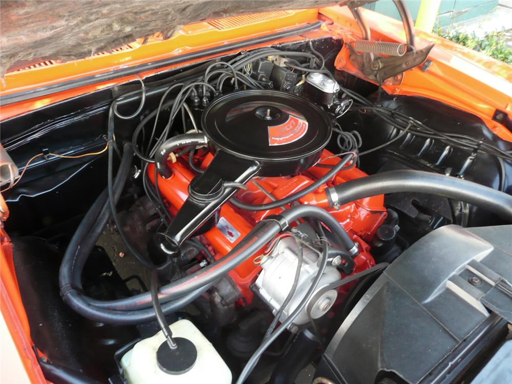 1969 CHEVROLET CAMARO RS COUPE - Engine - 96382