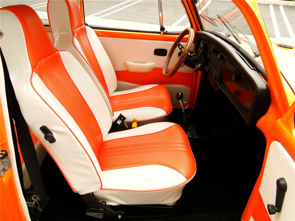 1972 VOLKSWAGEN BEETLE SEDAN - Interior - 96385