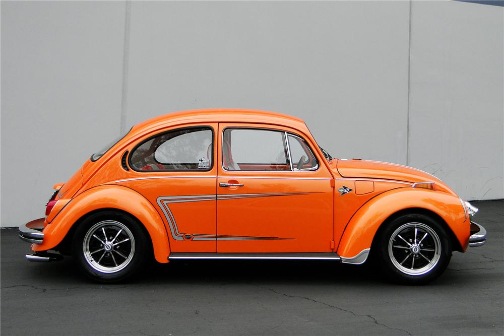 1972 VOLKSWAGEN BEETLE SEDAN - Side Profile - 96385