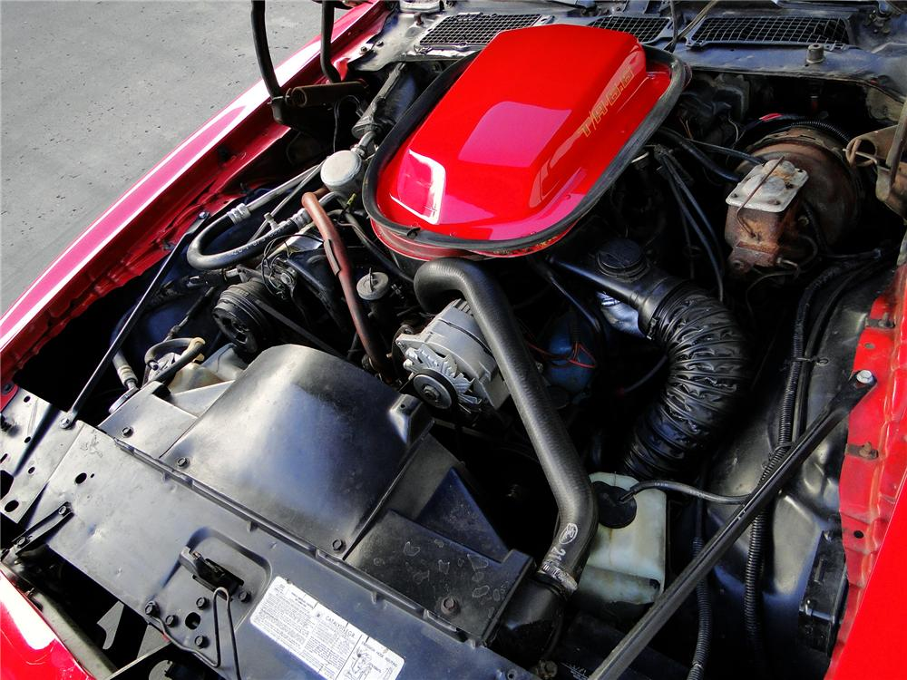 1979 PONTIAC FIREBIRD TRANS AM COUPE - Engine - 96388