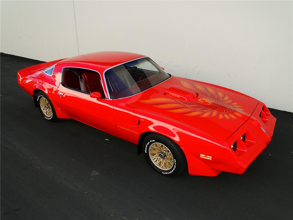 1979 PONTIAC FIREBIRD TRANS AM COUPE - Front 3/4 - 96388