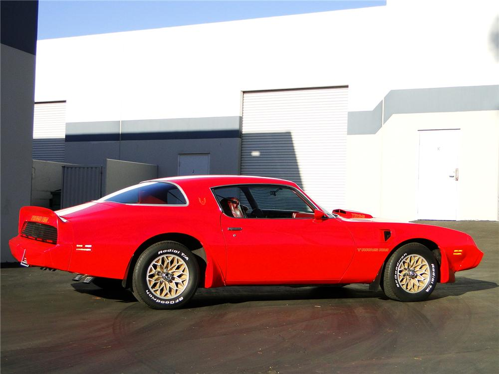 1979 PONTIAC FIREBIRD TRANS AM COUPE - Side Profile - 96388