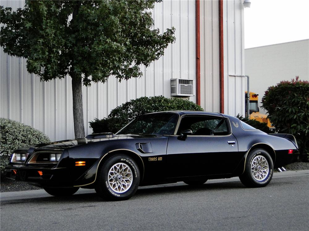 1977 PONTIAC FIREBIRD TRANS AM COUPE - Front 3/4 - 96393