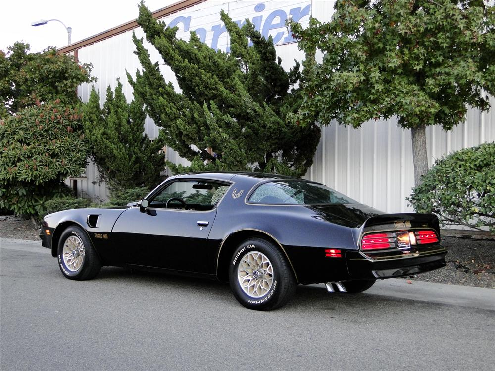 1977 PONTIAC FIREBIRD TRANS AM COUPE - Rear 3/4 - 96393
