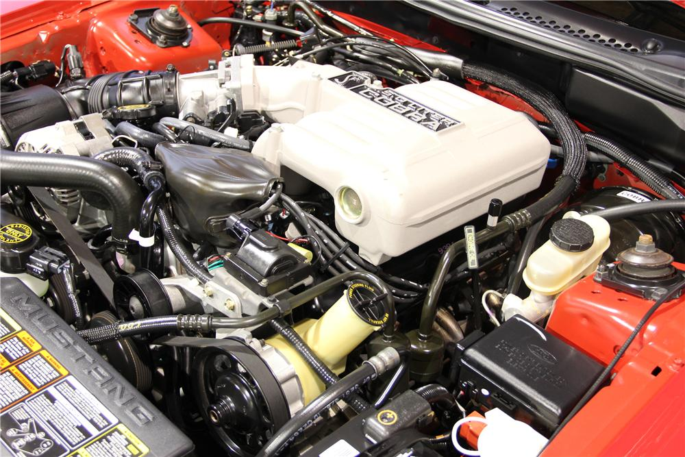 1994 FORD MUSTANG COBRA SVT CONVERTIBLE - Engine - 96394