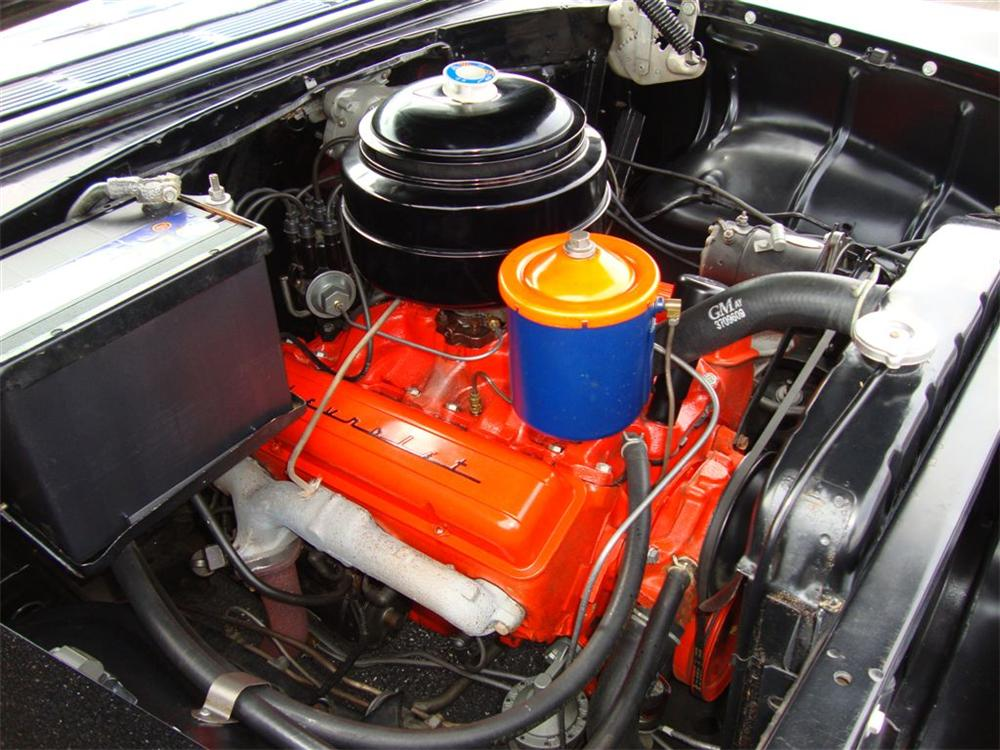 1955 CHEVROLET BEL AIR CONVERTIBLE PACE CAR TRIBUTE - Engine - 96398