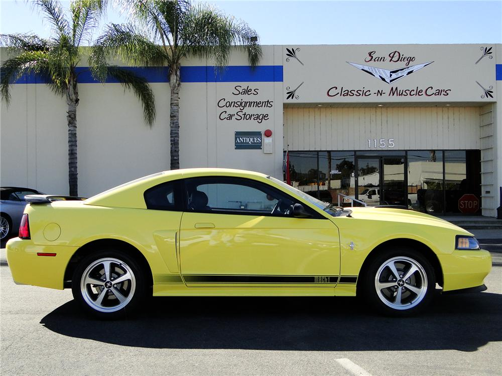 2003 FORD MUSTANG MACH 1 COUPE - Front 3/4 - 96404