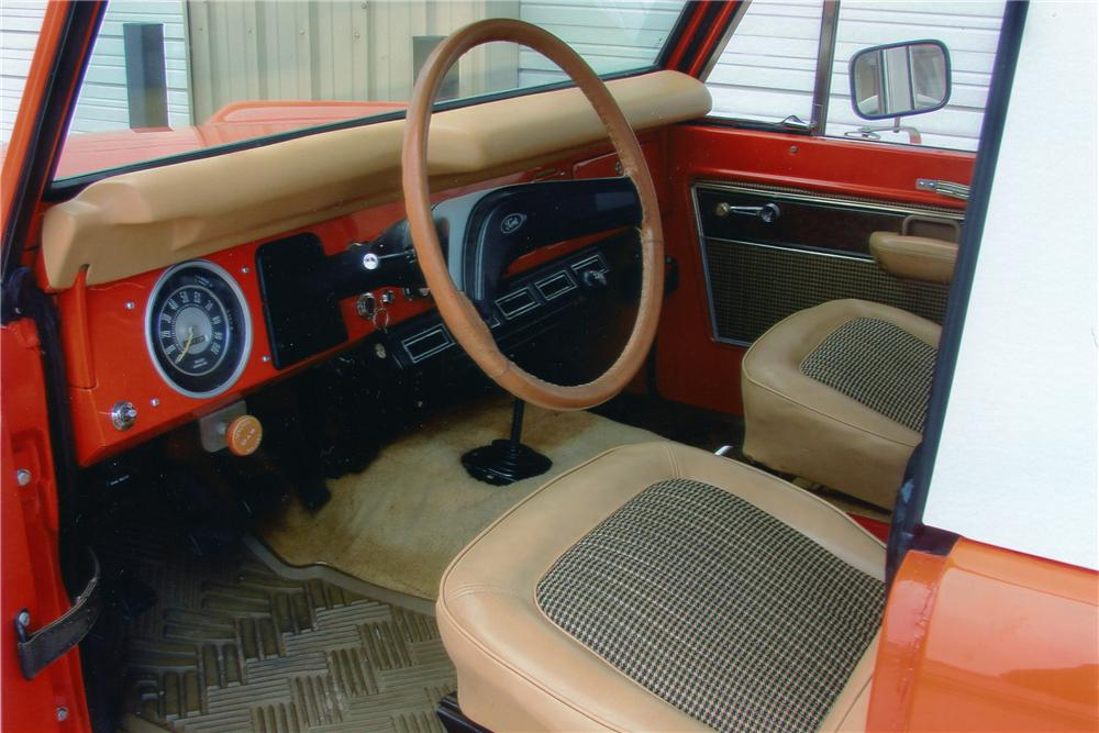1976 FORD BRONCO SUV - Interior - 96406