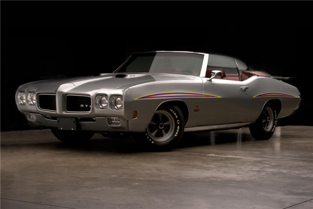 1970 pontiac gto judge 2 door convertible 96407. Black Bedroom Furniture Sets. Home Design Ideas