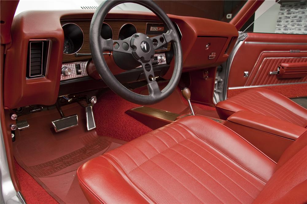 1970 PONTIAC GTO JUDGE 2 DOOR CONVERTIBLE - Interior - 96407