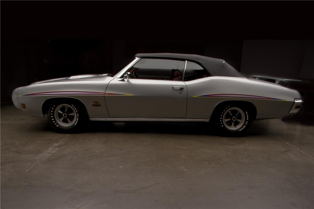 1970 PONTIAC GTO JUDGE 2 DOOR CONVERTIBLE - Side Profile - 96407