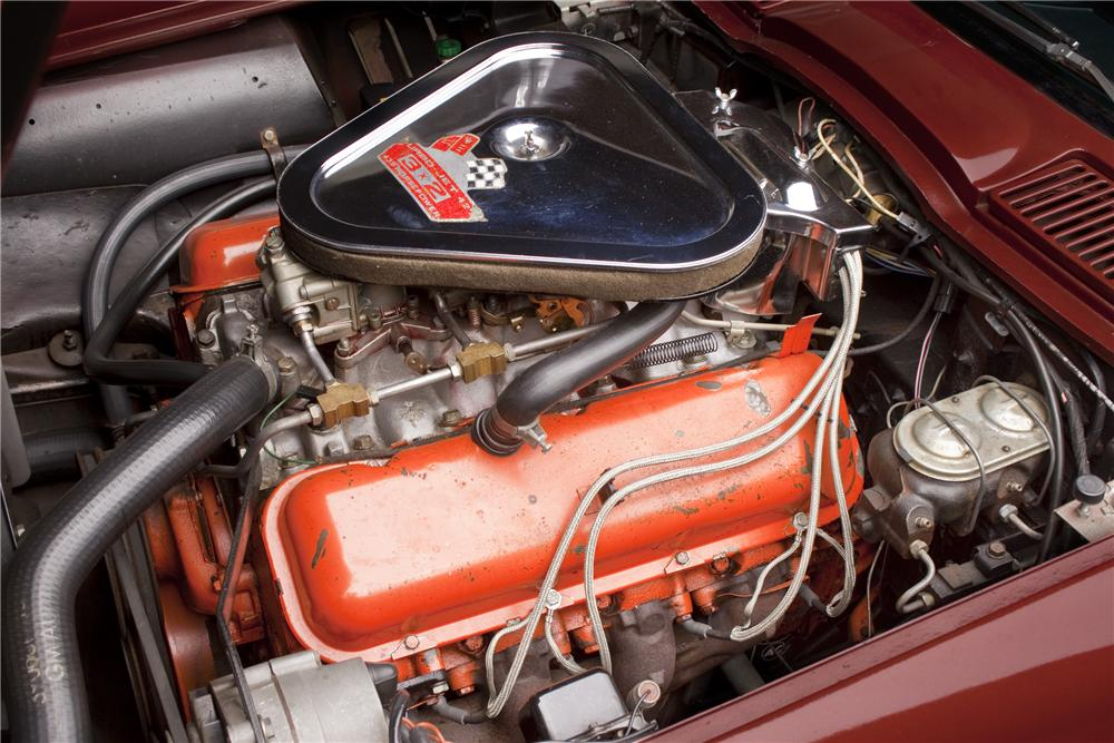 1967 CHEVROLET CORVETTE CONVERTIBLE - Engine - 96408