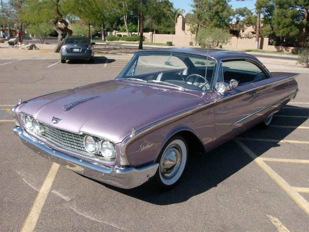 1960 FORD STARLINER 2 DOOR HARDTOP - 96413