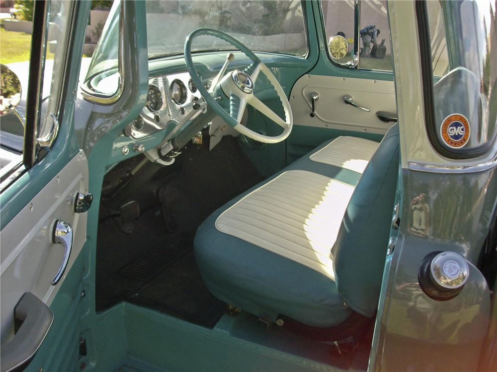 1956 GMC 100 1/2 TON PICKUP - Interior - 96414