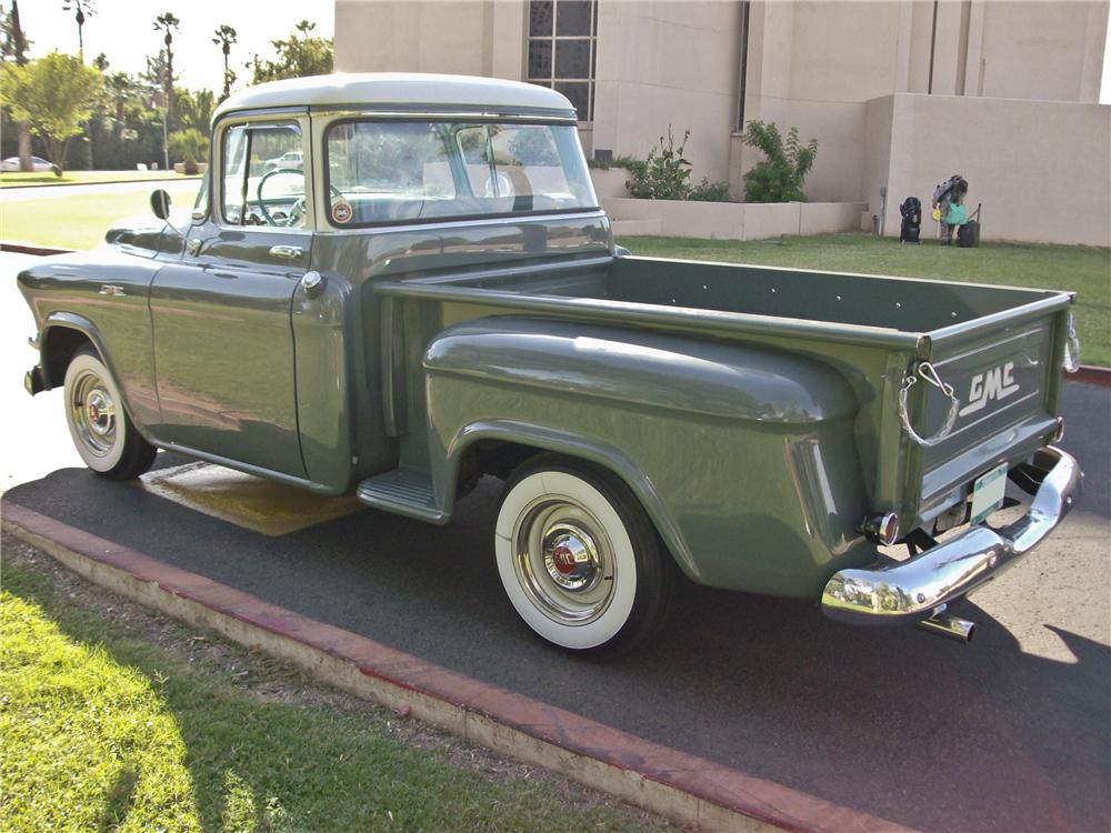 1956 GMC 100 1/2 TON PICKUP - Rear 3/4 - 96414