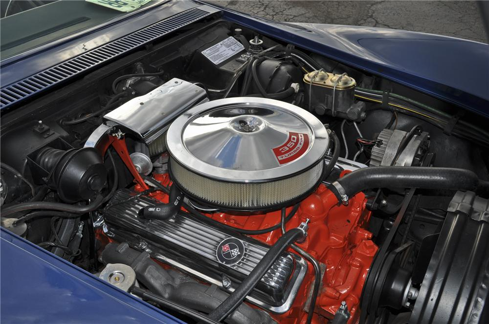 1972 CHEVROLET CORVETTE CONVERTIBLE - Engine - 96418